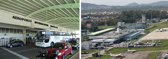 Aeroporto Em Sc : Aeroporto internacional hercílio luz em florianópolis