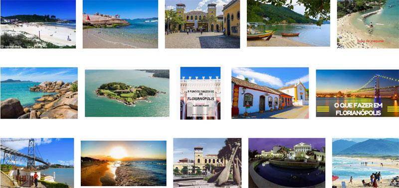Florianópolis Pontos Turísticos