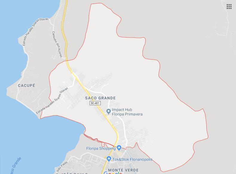 Bairro Saco Grande Florianópolis