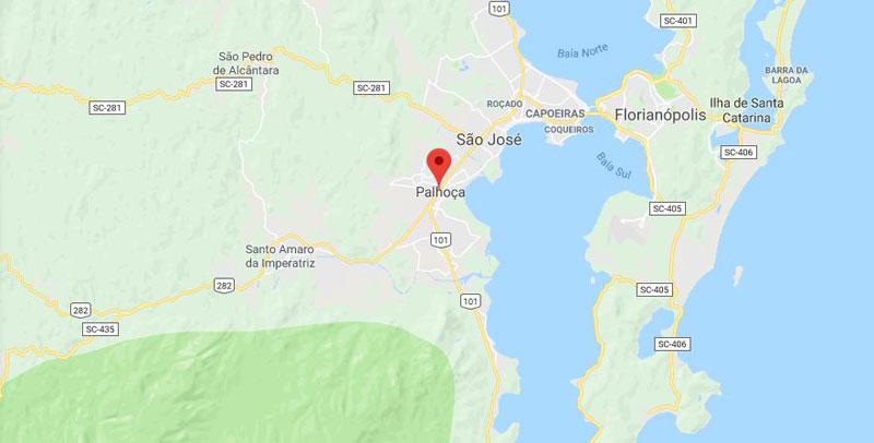 Município Palhoça Florianópolis